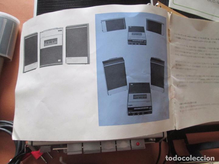 Radios antiguas: cassette stereo-sony tc- 124cs-antiguo.c.1970-completo-maleta-altavoces-mínimo uso-ver fotos - Foto 17 - 104043851