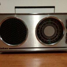 Radios antiguas: RADIO TRANSISTOR INTER EUROMODUL 118. Lote 104080803