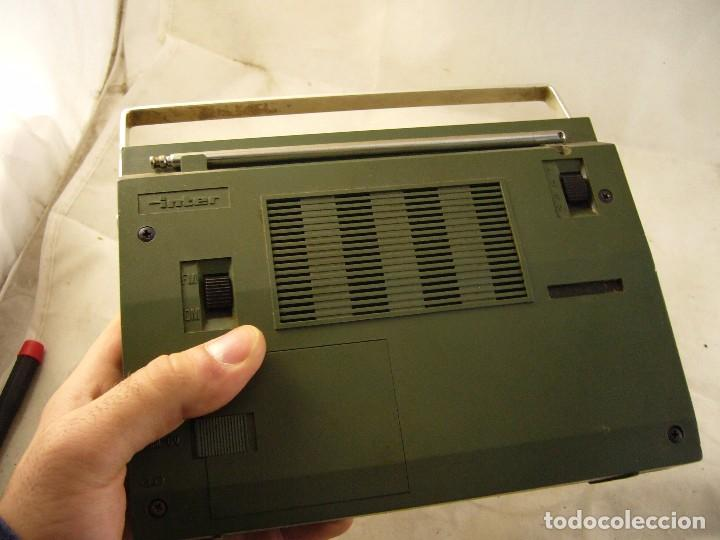Radios antiguas: adio transistor inter - Foto 5 - 104132851