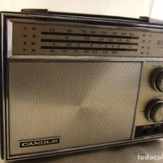 Radios antiguas: RADIO TRANSISTOR CANDLE 4 BAND 12 TRANSISTOR. Lote 104140203