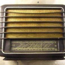 Radios antiguas: RADIO TESLA RYTMUS SIN PROBAR 1948-1949 FABRICACION CHECA MIRAR IMAGENES INTERIOR. Lote 104280695