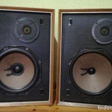 Radios antiguas: ALTAVOCES PHILIPS AÑOS 1970 MADERA. Lote 104281231