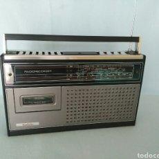Radios antiguas: RADIO CASSETTE RADIOLA TA8522 FUNCIONANDO! ÚNICA A LA VENTA!!. Lote 104447023
