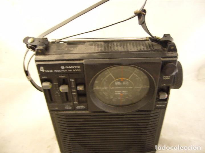 Radios antiguas: Radio Sanyo 4 band Receiver RP 8300 - Foto 1 - 104578599