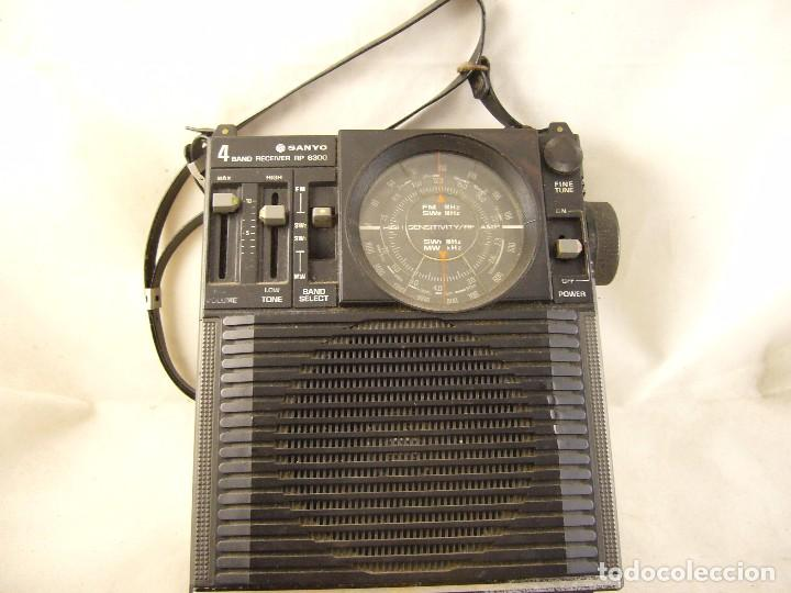 Radios antiguas: Radio Sanyo 4 band Receiver RP 8300 - Foto 2 - 104578599