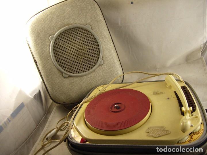 Radios antiguas: Tocadiscos teppaz lyon oscar La funda es el altavoz, Sin Probar - Foto 8 - 104592447