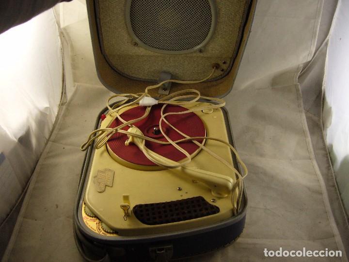 Radios antiguas: Tocadiscos teppaz lyon oscar La funda es el altavoz, Sin Probar - Foto 14 - 104592447