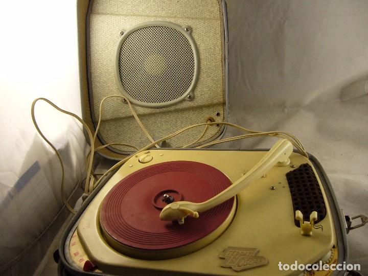 Radios antiguas: Tocadiscos teppaz lyon oscar La funda es el altavoz, Sin Probar - Foto 15 - 104592447