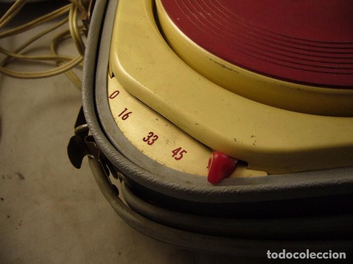 Radios antiguas: Tocadiscos teppaz lyon oscar La funda es el altavoz, Sin Probar - Foto 16 - 104592447