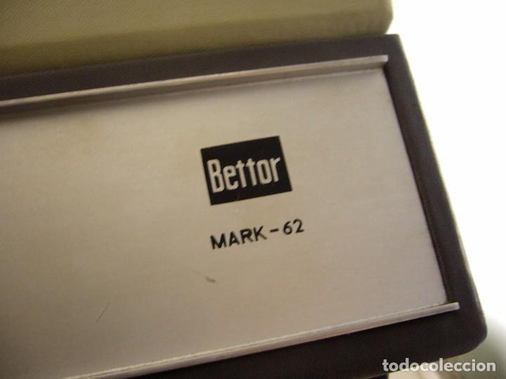 Radios antiguas: Tocadiscos de maleta bettor mark 62 Probado - Foto 8 - 104674571