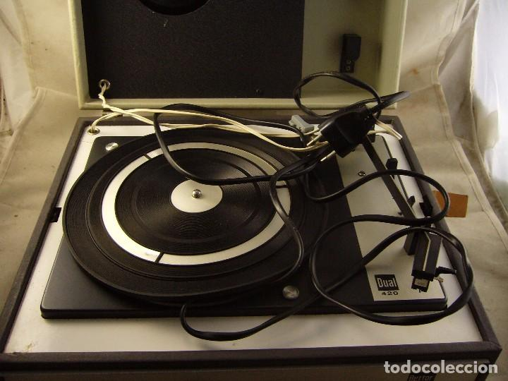 Radios antiguas: Tocadiscos de maleta bettor mark 62 Probado - Foto 9 - 104674571