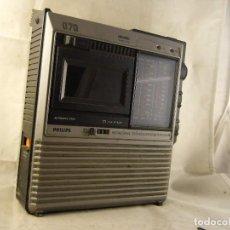 Radios antiguas: RADIO CASETTE PHILIPS 070 SIN PROBAR. Lote 104685879