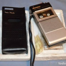 Radios antiguas: FAIR MATE CS-696 JAPAN - SUPER MINI RECORDER - AÑOS 70 - NUEVA / NOS - ¡IMPRESIONANTE!. Lote 104803827