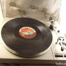 Radios antiguas: TOCADISCOS GIRADISCOS PLATO GRUNDIG PS 3000 SIN PROBAR, TAPA ROTA. Lote 104858515