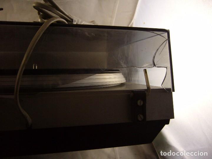 Radios antiguas: Tocadiscos giradiscos plato grundig ps 3000 Sin Probar, Tapa Rota - Foto 2 - 104858515