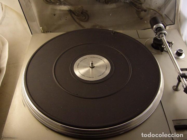 Radios antiguas: Tocadiscos giradiscos plato grundig ps 3000 Sin Probar, Tapa Rota - Foto 7 - 104858515