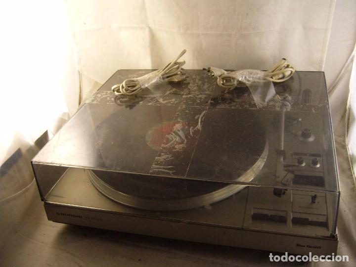 Radios antiguas: Tocadiscos giradiscos plato grundig ps 3000 Sin Probar, Tapa Rota - Foto 10 - 104858515