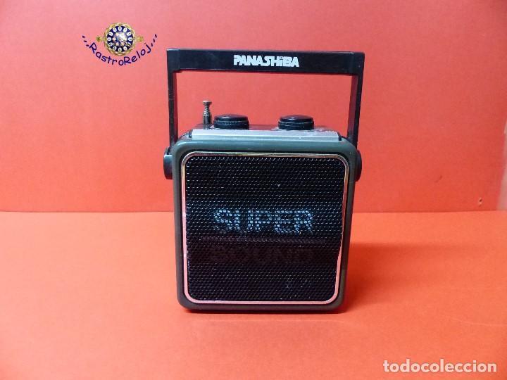 ,,,PEQUÑA RADIO PILAS,,,PANASHIBA,,, (Radios, Gramófonos, Grabadoras y Otros - Transistores, Pick-ups y Otros)