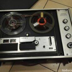Radios antiguas: MAGNETOFONO SONY TAPECORDER TC-260. Lote 105011694