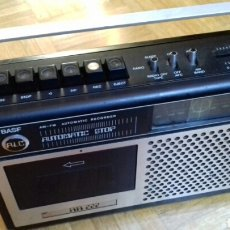 Radios antiguas: RADIOCASETTE VINTAGE BASF RR222. Lote 105093108