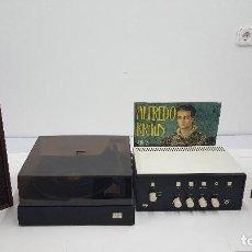 Radios antiguas: TOCADISCOS COMPLETO VIETA UNO AÑO 1975. Lote 105403955