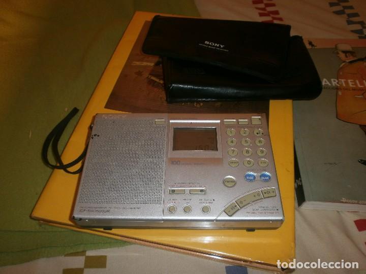 RADIO TRANSISTOR SONY ICF-SW 7600GR MULTIBANDAS CON FUNDA ORIGINAL - FUNCIONANDO (Radios, Gramófonos, Grabadoras y Otros - Transistores, Pick-ups y Otros)