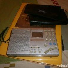 Radios antiguas - RADIO TRANSISTOR SONY ICF-SW 7600GR MULTIBANDAS CON FUNDA ORIGINAL - FUNCIONANDO - 105723935