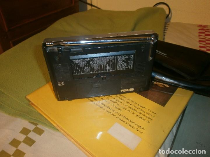 Radios antiguas: RADIO TRANSISTOR SONY ICF-SW 7600GR MULTIBANDAS CON FUNDA ORIGINAL - FUNCIONANDO - Foto 4 - 105723935