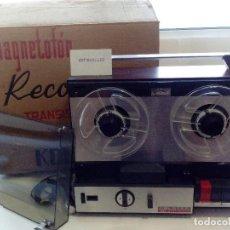 Radios antiguas: MAGNETOFONO REPRODUCTOR BOBINA ABIERTA KOLSTER RECORD 432,NUEVO.. Lote 177610274
