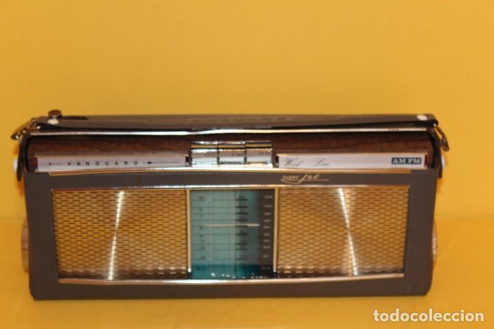 Radios antiguas: ANTIGUA RADIO TRANSISTOR VANGUARD - SUPER JET - AÑOS 60 NUEVA EN SU CAJA - Foto 11 - 105798939