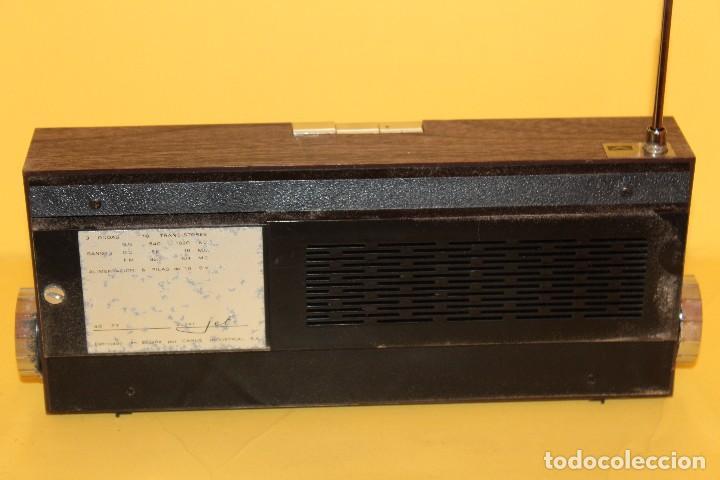 Radios antiguas: ANTIGUA RADIO TRANSISTOR VANGUARD - SUPER JET - AÑOS 60 NUEVA EN SU CAJA - Foto 17 - 105798939