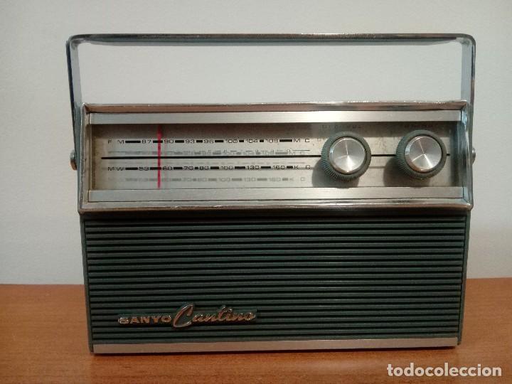 RADIO TRANSISTOR SANYO CANTINO 10F-821 (Radios, Gramófonos, Grabadoras y Otros - Transistores, Pick-ups y Otros)
