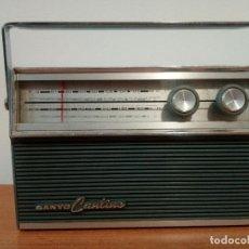 Radios antiguas: RADIO TRANSISTOR SANYO CANTINO 10F-821. Lote 105888423