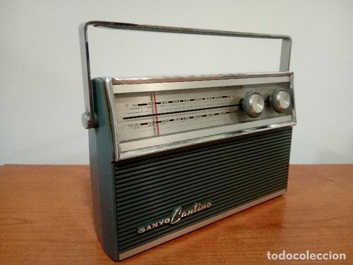 Radios antiguas: Radio transistor Sanyo Cantino 10f-821 - Foto 4 - 105888423