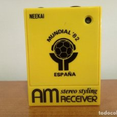 Radios antiguas: RADIO TRANSISTOR DE MANO NEEKAI. Lote 106049611