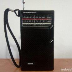 Radios antiguas: RADIO TRANSISTOR DE MANO SANYO RP5065D. Lote 106052583