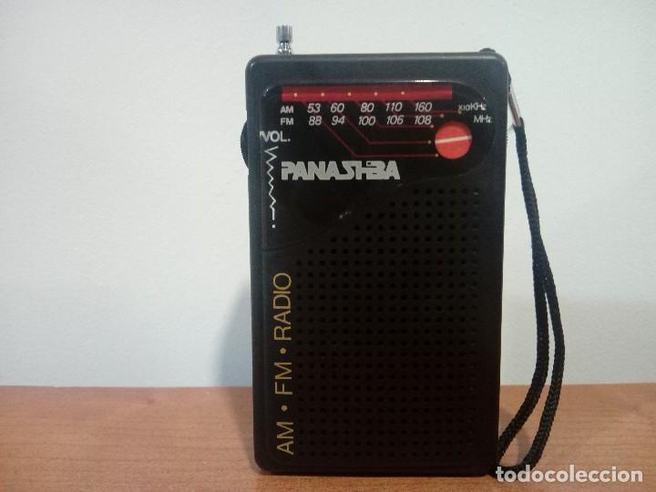 33-RADIO TRANSISTOR DE MANO PANASHIBA (Radios, Gramófonos, Grabadoras y Otros - Transistores, Pick-ups y Otros)