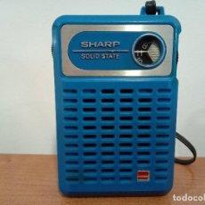 Radios antiguas: RADIO TRANSISTOR DE MANO SHARP. Lote 106685083