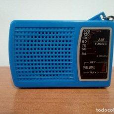 Radios antiguas: RADIO TRANSISTOR DE MANO POCKET RADIO. Lote 106910947