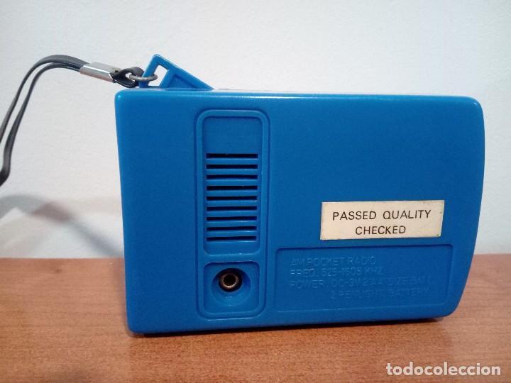 Radios antiguas: Radio transistor de mano Pocket Radio - Foto 3 - 106910947