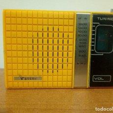 Radios antiguas: RADIO TRANSISTOR VASCO SOLID STATE. Lote 107143963