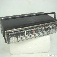 Radios antiguas: ANTIGUA RADIO PORTATIL -BLAUPUNKT LIDO MADE IN GERMANY 1969 ¡¡FUNCIONANDO¡¡. Lote 107200975