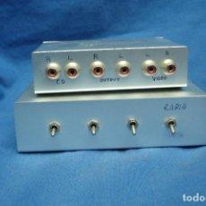 Radios antiguas: MEZCLADORES DE AUDIO/ VÍDEO ARTESANALES. Lote 107447215