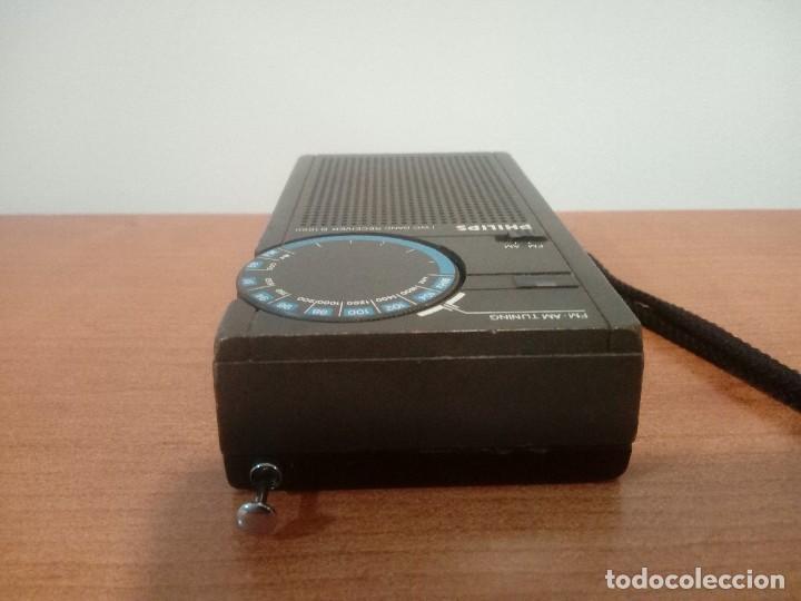 Radios antiguas: 43-Radio transistor philips d1000 - Foto 5 - 107511351