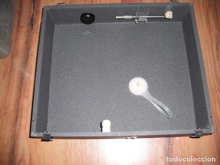 Radios antiguas: Tocadiscos de maleta Dual P1010 AV52 con altavoces funcionando 220 V - - Foto 4 - 107593171