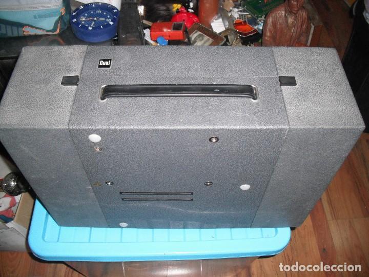 Radios antiguas: Tocadiscos de maleta Dual P1010 AV52 con altavoces funcionando 220 V - - Foto 7 - 107593171