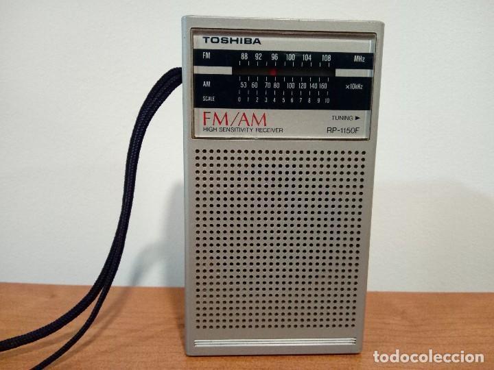122-RADIO TRANSISTOR TOSHIBA RP1150F (Radios, Gramófonos, Grabadoras y Otros - Transistores, Pick-ups y Otros)