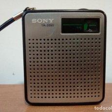 Radios antiguas: RADIO TRANSISTOR SONY TR 3550. Lote 107986291