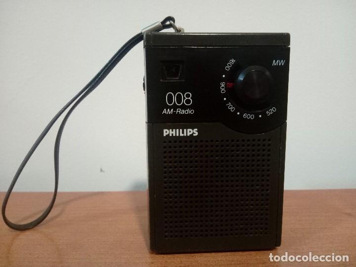RADIO TRANSISTOR PHILIPS 008 (Radios, Gramófonos, Grabadoras y Otros - Transistores, Pick-ups y Otros)