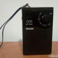 Radios antiguas: RADIO TRANSISTOR PHILIPS 008. Lote 108064127